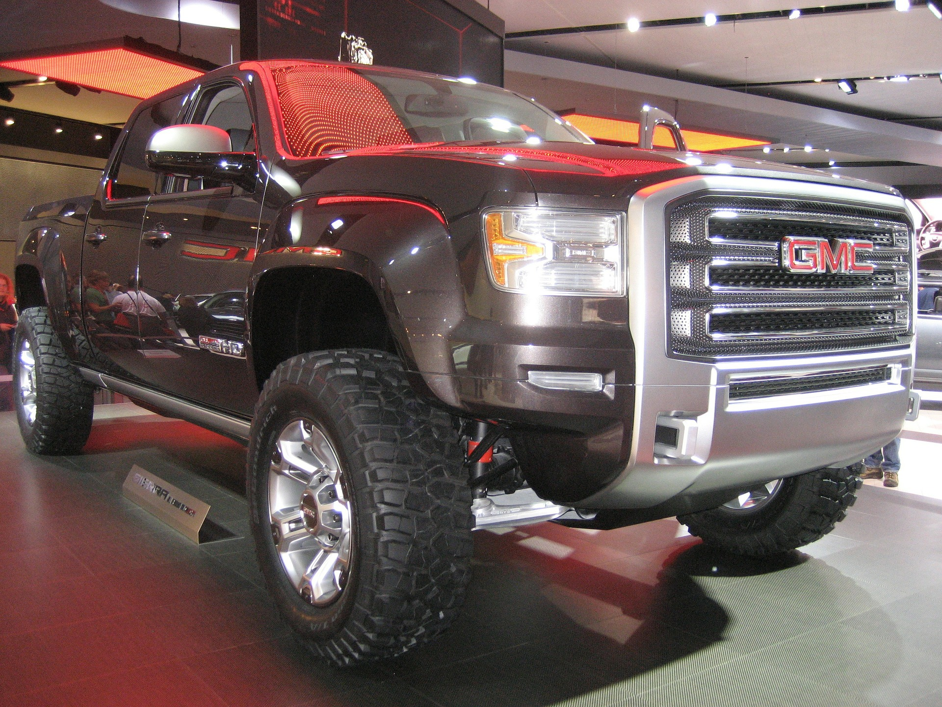 Image of a GMC